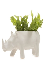 Chive Rhino Planter - Side cropped