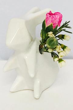 Chive White Bunny Vase - Product List Image