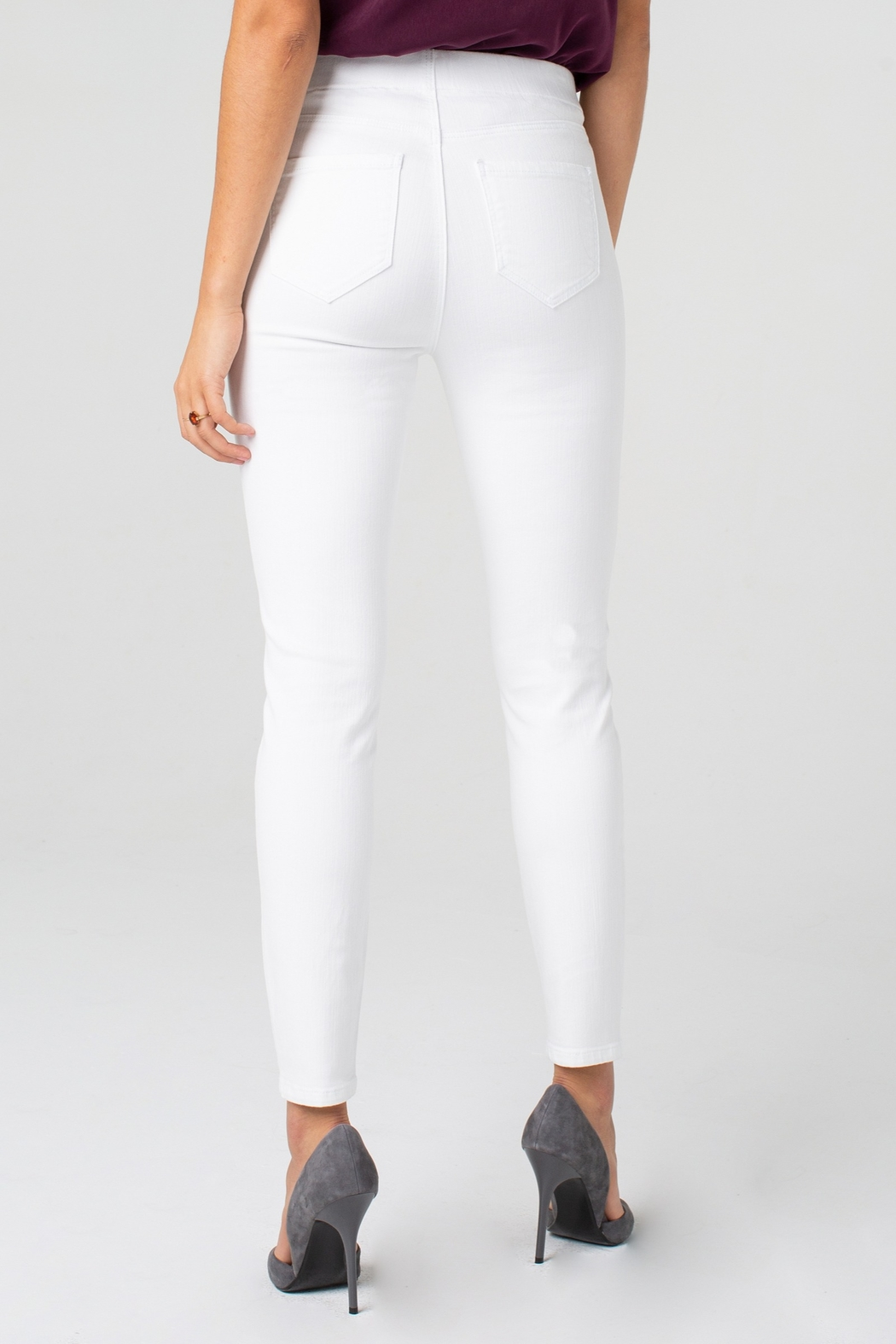 Liverpool Chloe Ankle Skinny - Back Cropped Image