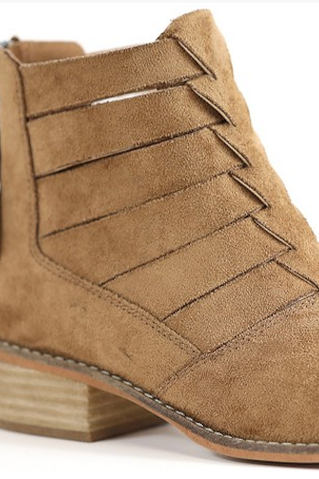 Rad Fashion Chloe Bootie - Front Cropped Image