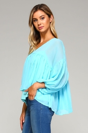 Racine Chloe Chiffon Top - Front full body