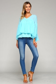 Racine Chloe Chiffon Top - Back cropped