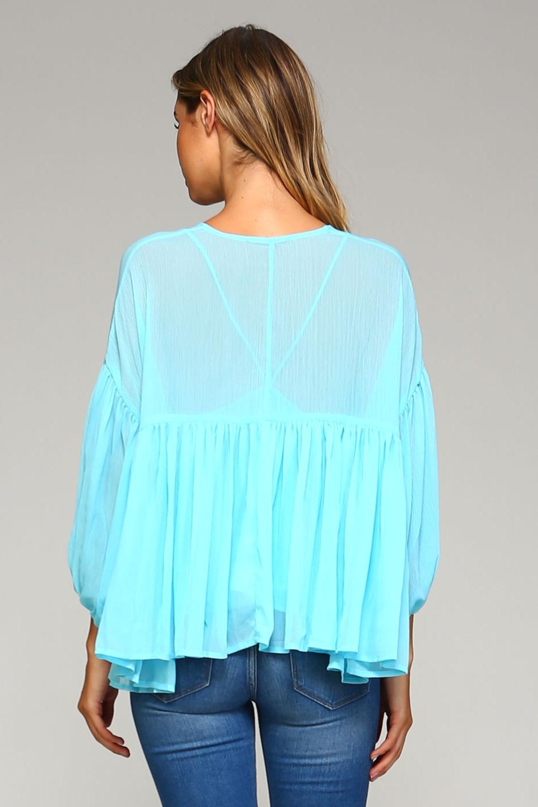 Racine Chloe Chiffon Top - Side Cropped Image