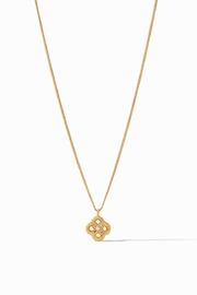 Julie Vos Chloe Delicate Necklace Gold Pearl - Product Mini Image