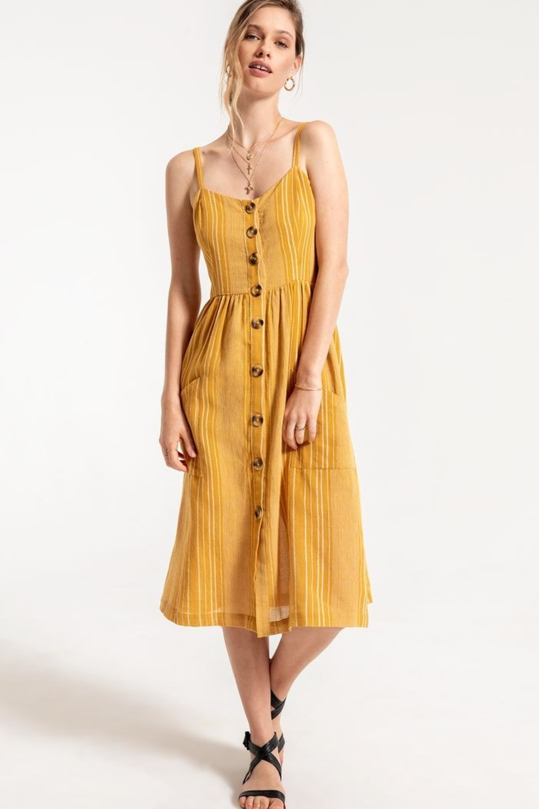 z supply Chloe Dress - Front Cropped Image