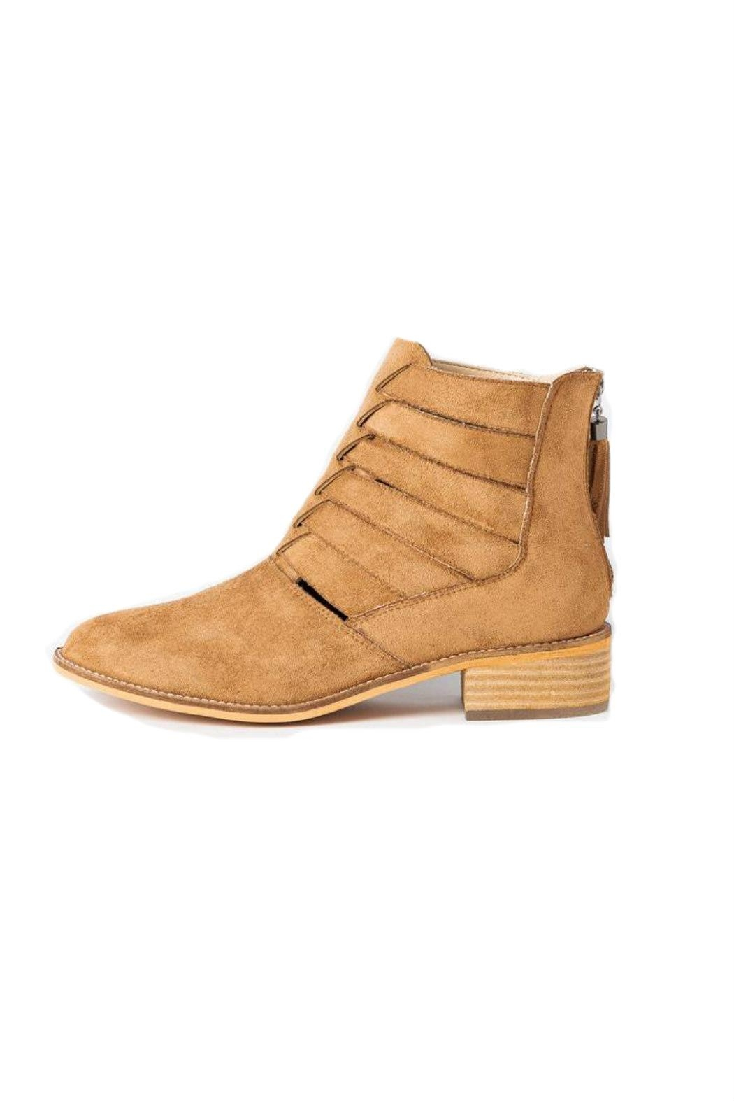 Arider Girl Chloe Faux-Suede Bootie - Main Image