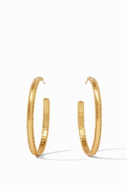 Julie Vos Chloe Hoop Gold -Large - Product Mini Image