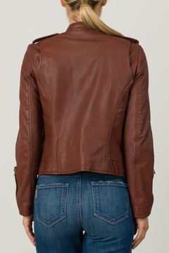 Margaret O'Leary Chloe Leather Jacket - Alternate List Image