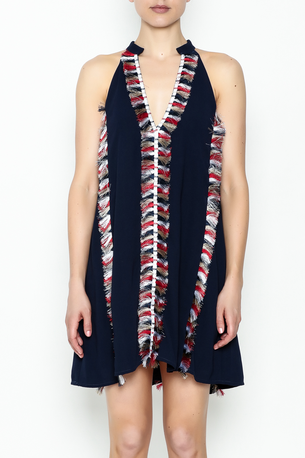 Chloe Oliver USA Fringe Dress - Front Full Image