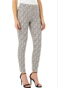 Shoptiques Product: Chloe Pull-On Crop Skinny Pant, Light Tobacco