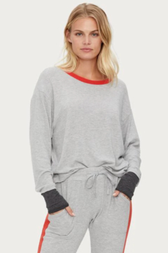 Michael Stars Chloe Scoop Neck Pullover - Product List Image