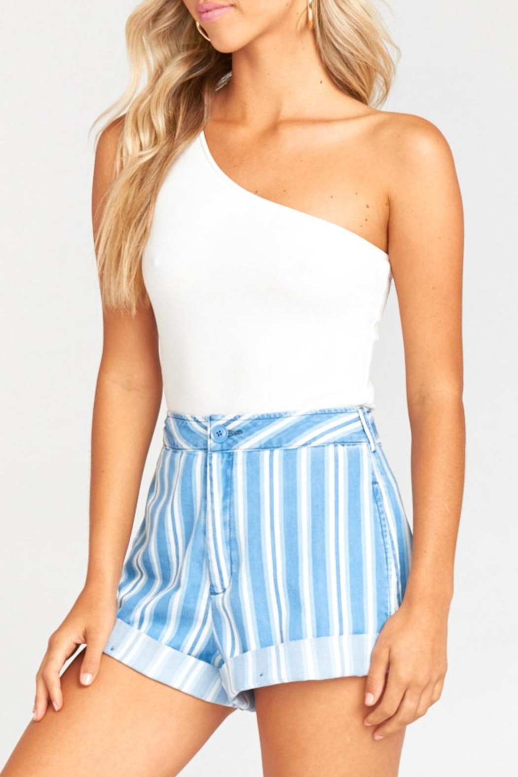 Show Me Your Mumu Chloe Shorts - Side Cropped Image