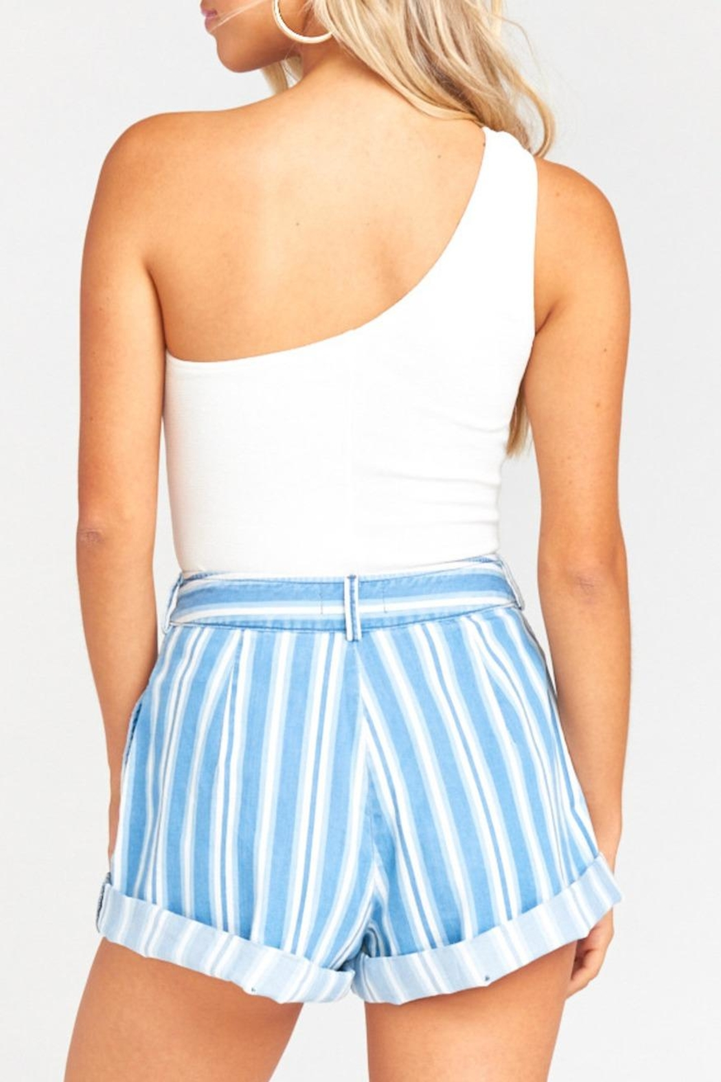 Show Me Your Mumu Chloe Shorts - Back Cropped Image