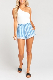 Show Me Your Mumu Chloe Shorts - Front cropped