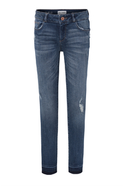 DL1961 Chloe Skinny Youth Jeans Preston - Front cropped
