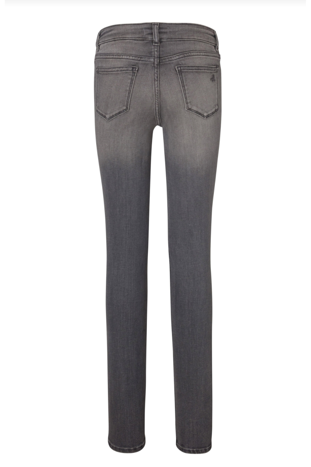 DL1961 Chloe Skinny Youth Jeans - Drizzle - Front Full Image