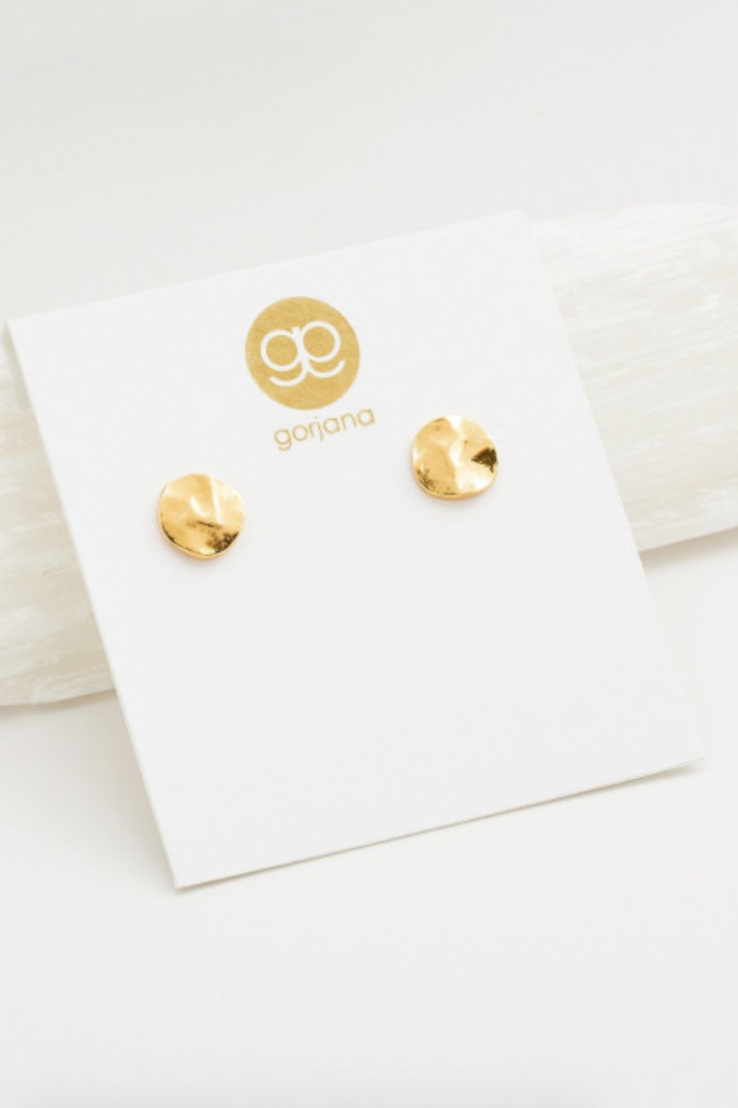 Gorjana Chloe Small Stud Earring - Front Cropped Image
