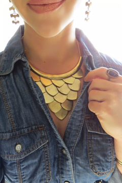 Chloe & Isabel Metal Bib Necklace - Product List Image