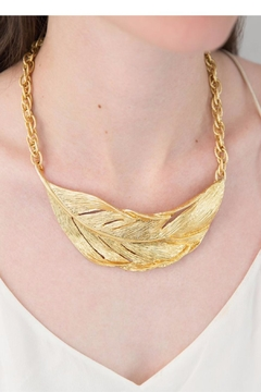 Chloe & Isabel Sculpted Feather Necklace - Alternate List Image