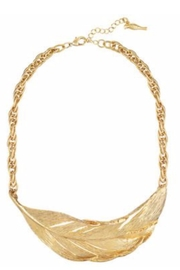 Chloe & Isabel Sculpted Feather Necklace - Product Mini Image