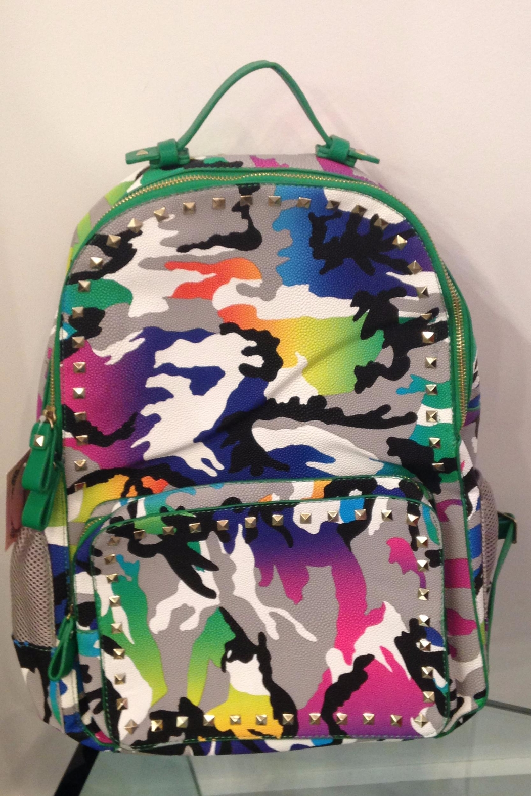 CHLOE K. NEW YORK Kids Backpack - Front Cropped Image