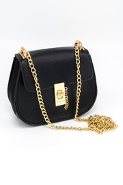 CHLOE K. NEW YORK Mini Saddle Bag - Product Mini Image