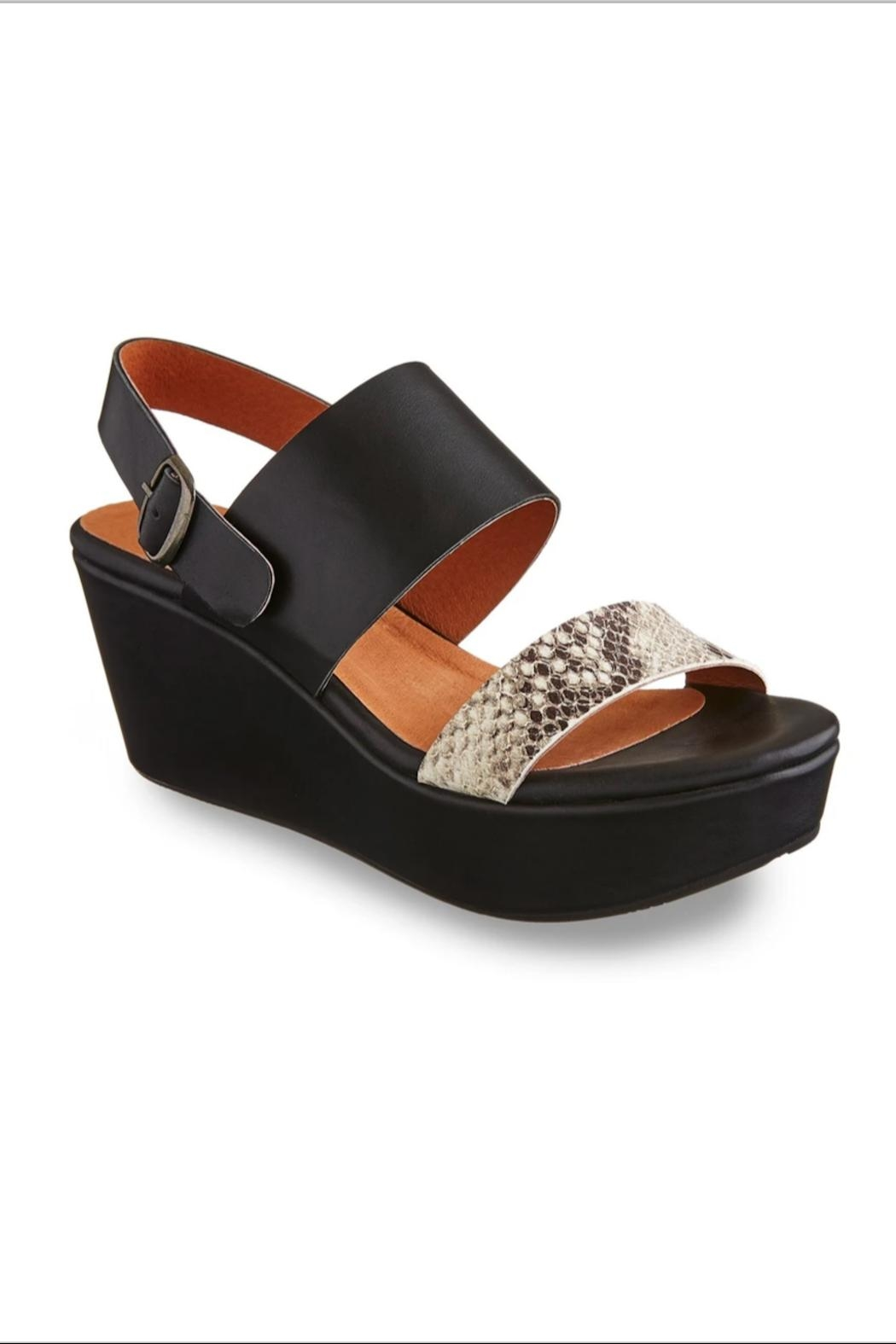 Chocolat Blu Wallace Wedge Sandal - Main Image