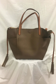 INZI Bags Chocolate Brown Handbag - Product Mini Image