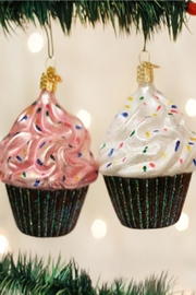 Old World Christmas Chocolate Cupcake Ornaments - Product Mini Image