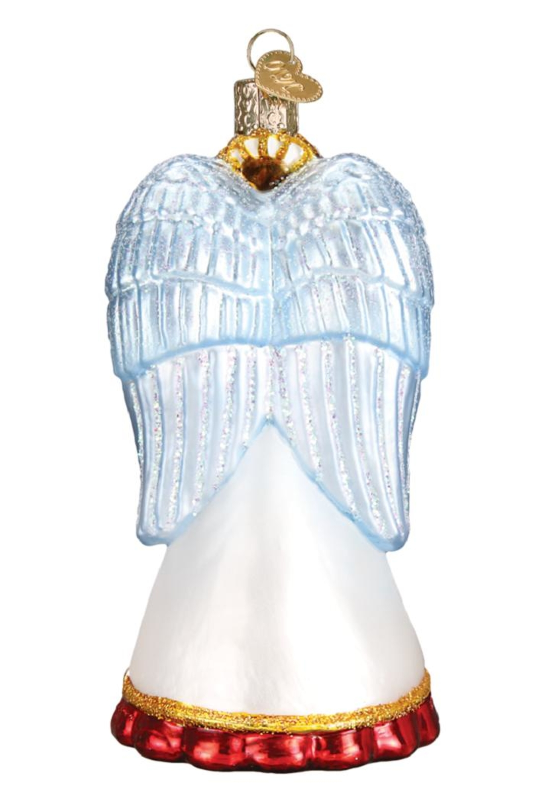 Old World Christmas Choir Angel Ornament - Front Full Image