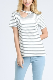 Doe & Rae Choker Neck Top - Front cropped