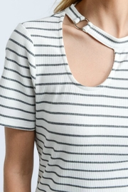 Doe & Rae Choker Neck Top - Side cropped