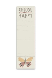 Primitives by Kathy Choose Happy Notepad - Product Mini Image