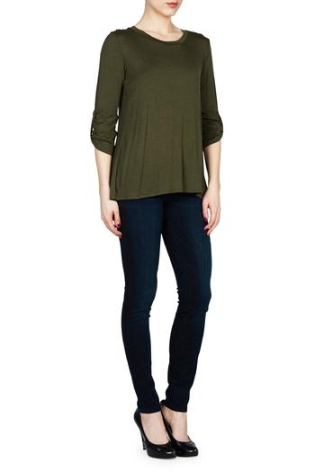 Shoptiques Product: 3/4 Sleeved Top  - main