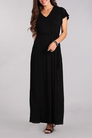 Chris & Carol Black Maxi Dress - Product Mini Image