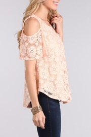 Chris & Carol Blushing Rose Top - Side cropped