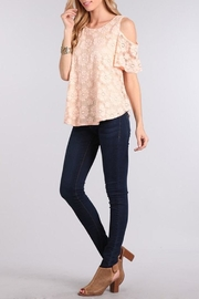 Chris & Carol Blushing Rose Top - Front cropped