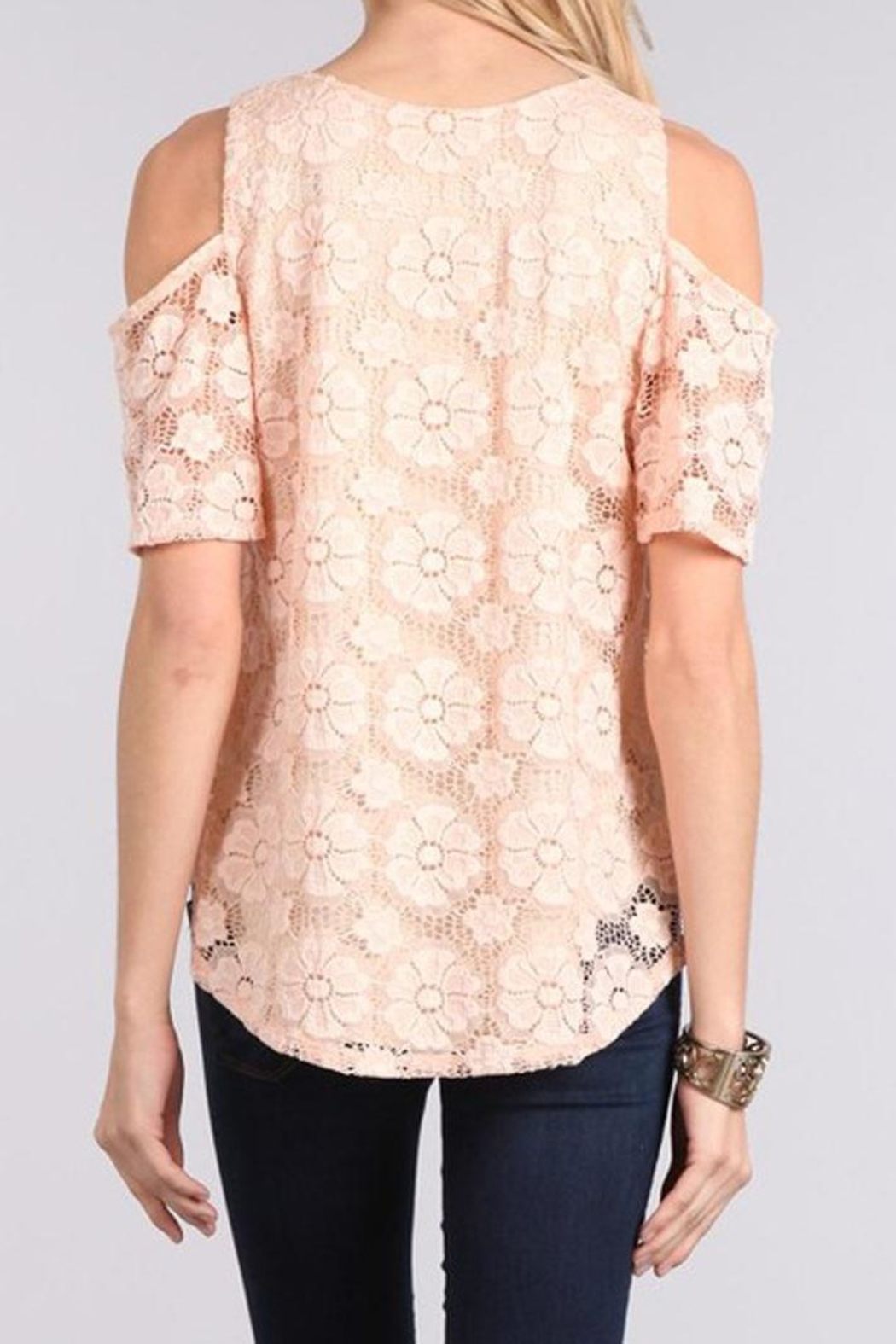 Chris & Carol Blushing Rose Top - Front Full Image