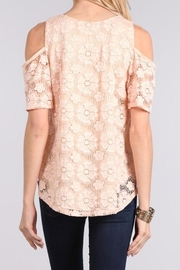 Chris & Carol Blushing Rose Top - Front full body