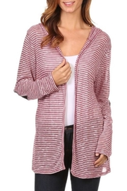 Chris & Carol Candy Cane Cardigan - Front full body