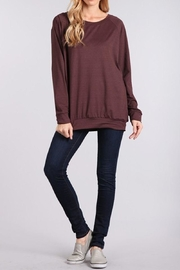Chris & Carol Cozy Pull-Over - Front cropped