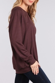 Chris & Carol Cozy Pull-Over - Side cropped