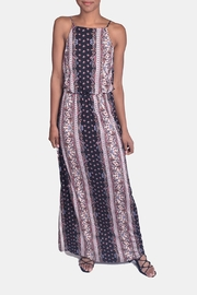 Chris & Carol Fall Print Maxi Dress - Product Mini Image