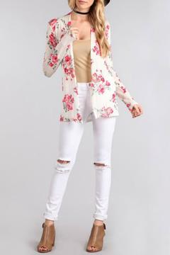 Shoptiques Product: Floral Cardigan