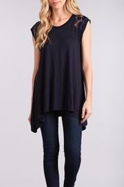 Chris & Carol Lace Trim Blouse - Product Mini Image