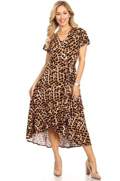 Chris & Carol Leopard Everywhere Dress - Product List Image