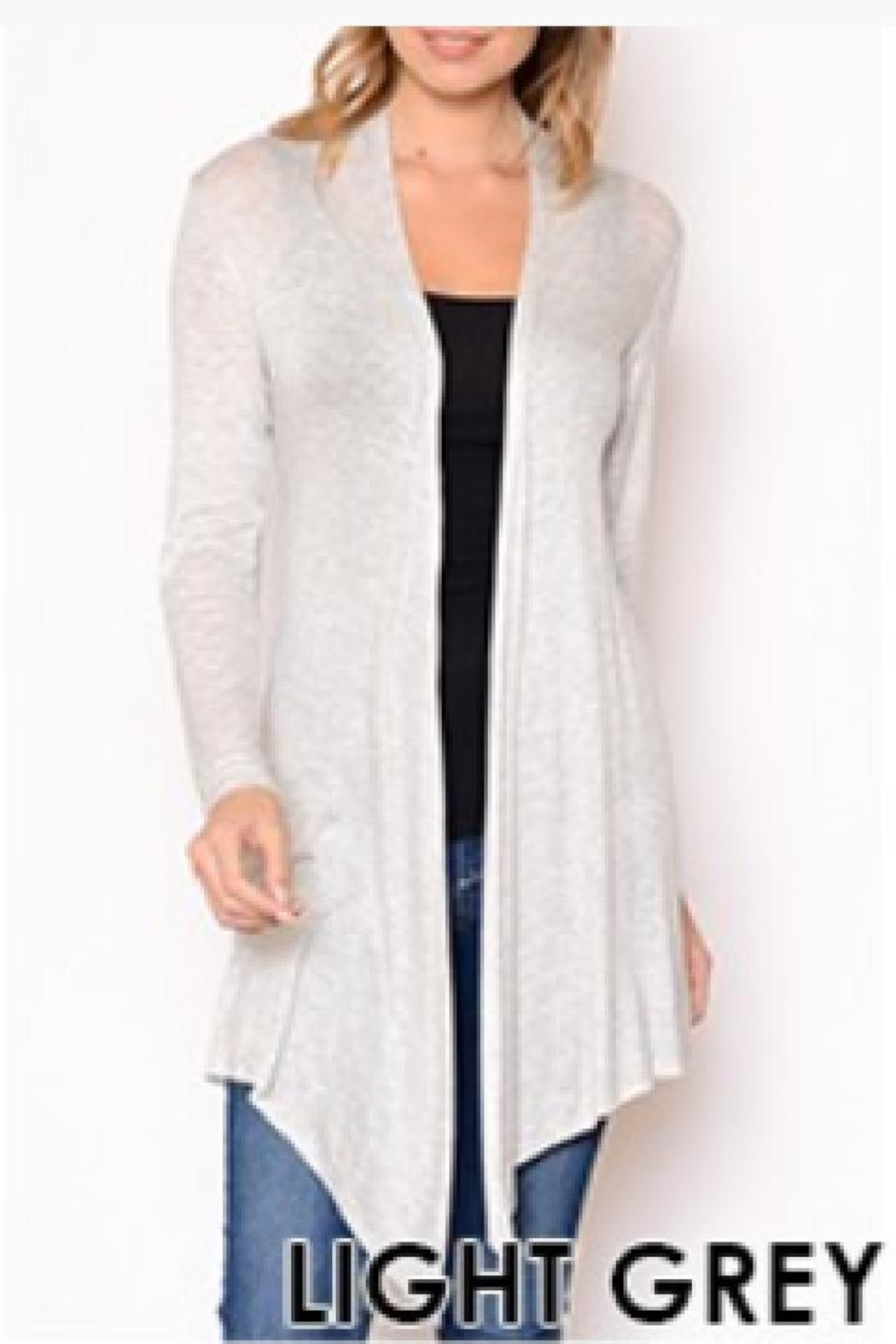 Chris & Carol Lightweight Cardigan - Main Image