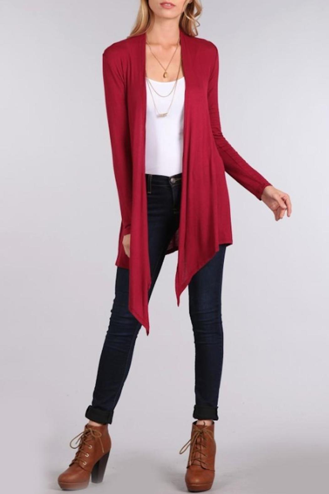 Chris & Carol Lightweight Cardigan - Front Cropped Image