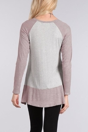 Chris & Carol Long-Sleeve Top - Product Mini Image