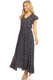 Chris & Carol Navy Dainty Floral Everyday Maxi - Other